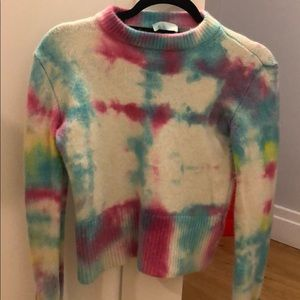 Tie Dyed Cashmere Sweater